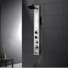 Stainless Steel Volume Control Shower Panel