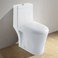 Royal Dual Flush Elongated Toilet 1 Piece