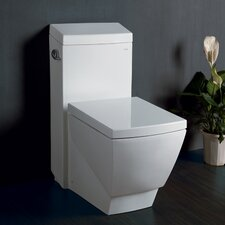 Aphrodite Contemporary 1.3 GPF Elongated 1 Piece Toilet