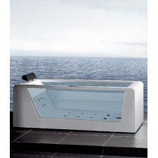 """70"""" x 32"""" Free Standing Whirlpool Tub"""