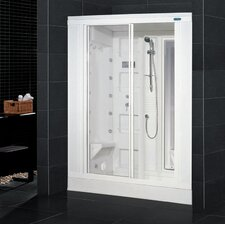 <strong>Ariel Bath</strong> Sliding Door Steam Sauna Shower