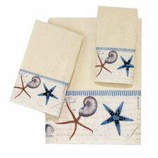 Antigua 4 Piece Towel Set