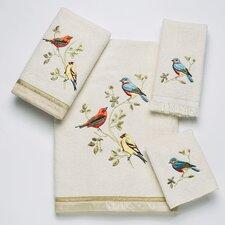 Gilded Birds 4 Piece Towel Set