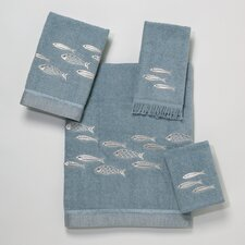 <strong>Avanti Linens</strong> Nantucket 4 Piece Towel Set