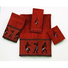 Kokopelli 4 Piece Towel Set