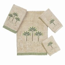 <strong>Avanti Linens</strong> Premier Palm Beach 4 Piece Towel Set