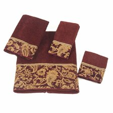 Arabesque 4 Piece Towel Set