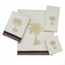 Oasis Palm 4 Piece Towel Set