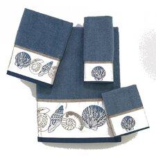 Hampton Shells 4 Piece Towel Set