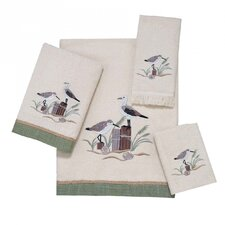 Sea Bird 4 Piece Towel Set