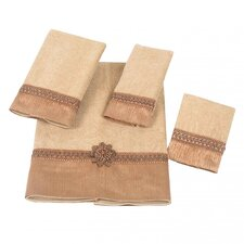 Braided Cuff 4 Piece Towel Set