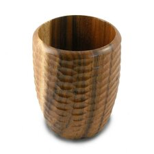 Casual Dining Utensil Vase in Natural Lacquer