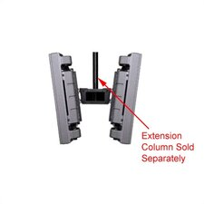 Peerless TV and Projector Dual Ceiling Mount for Plasma