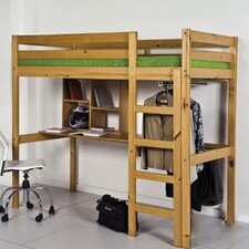 Rimini High Sleeper Student Set with Storage