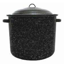 Graniteware Stock Pot with Lid