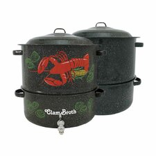 Graniteware 19-qt. Multi-Pot with Lid and Faucet