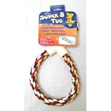 Super 8 Dog Tug Dog Toy