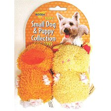 <strong>BOODA Pet Products</strong> Terry Duck/Pig Dog Toy (2 Pack)