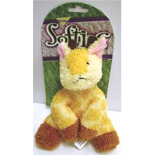 <strong>BOODA Pet Products</strong> Softies Terry Gail Giraffe Dog Toy