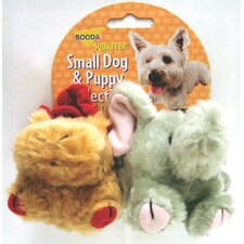 Squatter Moose/Elephant Dog Toy (2 Pack)