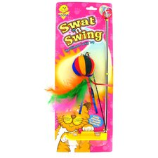 Swat' N Swing Yarn Ball Cat Toy