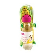 Squeakbottles Gator Dog Toy in Green