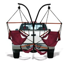 Trailer Hitch Stand and Hammock Chair Combo
