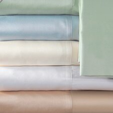 Supreme Sateen 300 Thread Count Solid Pillowcase (Set of 2)