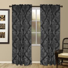 Henna Rod Pocket Curtain Single Panel