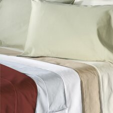 Supreme Sateen 500 Thread Count Solid Pillowcase (Set of 2)
