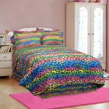 Rainbow Leopard Bedding Collection