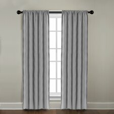 Gotham Ramie Linen Rod Pocket Window Curtain Single Panel