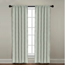 <strong>Veratex, Inc.</strong> Gotham Ramie Linen Rod Pocket Window Curtain Single Panel