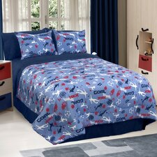 Soccer Locker Comforter Set