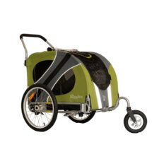 Novel Dog Stroller in Outdoors Green