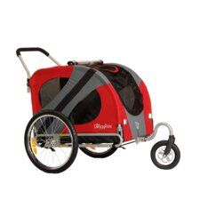 Original Dog Stroller in Urban Red