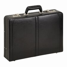 Classic Leather Laptop Attaché Case