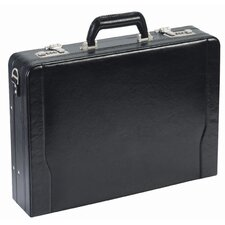 <strong>Solo Cases</strong> Leather Laptop Attaché Case
