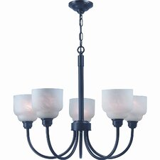 Carlton 5 Light Chandelier