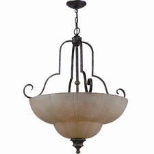 Kensington 4 Light Inverted Pendant