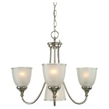 Easton Four Light Chandelier