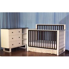 Moderno 4-in-1 Convertible Nursery Set