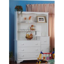 <strong>Eden Baby Furniture</strong> Nantucket 3 Drawer Combo and Hutch Set