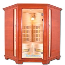 Corner Executive 4 Person Sauna