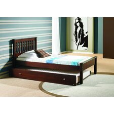 Donco Kids Twin Slat Bed with Trundle