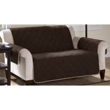 <strong>Soft Touch</strong> Reversible Loveseat Cover