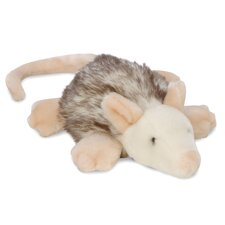 Furry Flatties Oppie the Oppossum Dog Toy