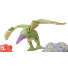 <strong>Go Dog</strong> Dinos Terry the Flying Terradactyl Dog Toy with Chew Guard