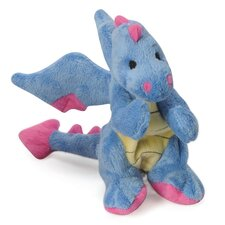 Mini Dragon Dog Toy with Chew Guard in Periwinkle