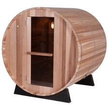 6 Person Barrel Sauna